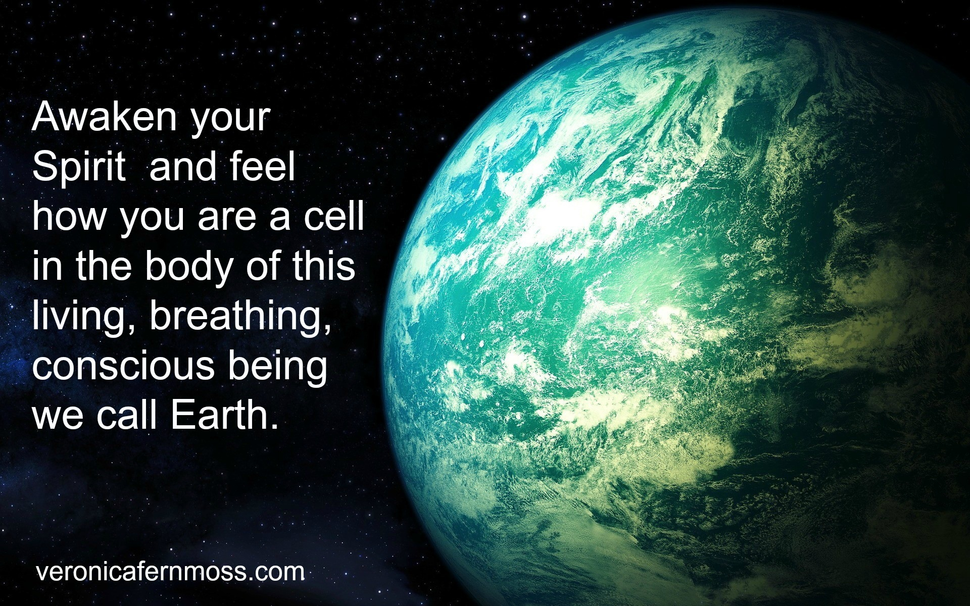 cell in the body of the Earth